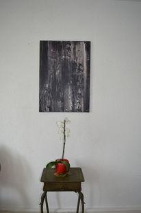 Spachtel, Acrylmalerei, Abstrakt, Malerei