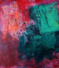 Malerei, Abstrakt auf steinpapier