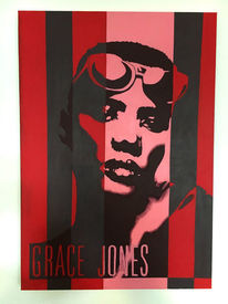 Grace jones, Mosimoart, Popart, Google