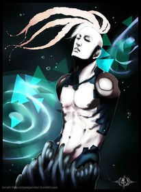 Roboter, Mohawk, Android, Horror