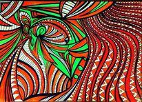 Surreal, Fotobearbeitung, Zeichnung, Zeichnungen