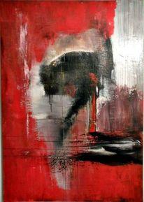 Abstrakte kunst, Rot, Moderne kunst, Abstrakte malerei