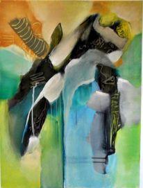 Abstrakte malerei, Moderne kunst, Moderne malerei, Gemälde
