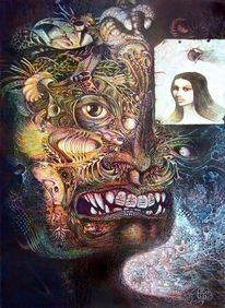 Visionary art, Traum, Surrealisn, Surreal