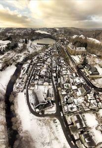 Kirche, Kloster, Schnee, Beyenburg