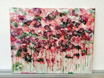 Pastellmalerei, Fantasie, Brombeer, Violett