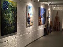 Gemälde, Acrylmalerei, Malerei, Pinnwand