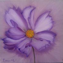 Pflanzen, Blumen, Lila, Malerei