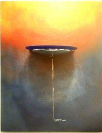 Kombinieren, Abstrakt, Malerei, Ölmalerei