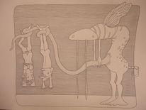 Wappel, Hut, Sonne, Zeichnungen
