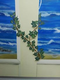 Meer, Airbrush, Wandmalerei, Landschaft