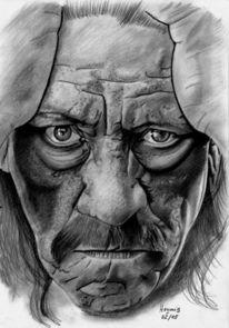 Internationale schauspielerinnen, Zeichnung, Portrait, Schauspieler