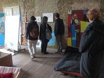 Veranstaltung, Woserin, Skulptur, Kreativ