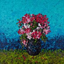 Blumen, Natur, Malerei