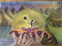 Schutz, Das innere kind, Urvertrauen, Malerei