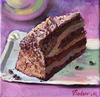 Süßigkeit, Schokolade tortenstück kuchen, Torte, Stillleben