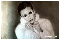 Bleistiftzeichnung, Frauen portrait, Zeichnung, Zeichnungen