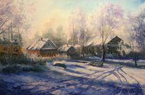 Natur, Dorf, Grigorev, Malerei