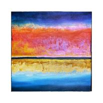 Abstrakt, Meer, Regenbogen, Natur