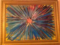 Explosion, Abstrakt, Malerei