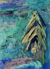 Ölmalerei, Expressionismus, Figural, Digital