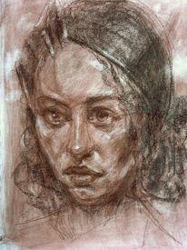 Skizzenbuch, Zeichnung, Portrait, Zeichnungen