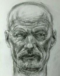Skizze, Portrait, Zeichnung, Zeichnungen