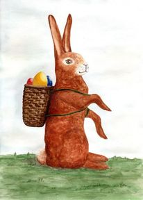 Hase, Ei, Osterhase, Frohe ostern
