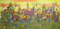 Abstrakt, Acrylmalerei, Preis vh, Malerei