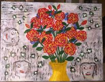 Preis vh, Abstrakt, Acrylmalerei, Stillleben