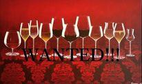 Stillleben, Weißwein, Wein, Fest