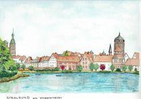 Knieperteich, Vorpommern, Stralsund, Ostsee