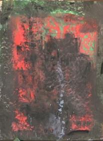 Informel, Abstrakte malerei, Turm, Abstrakter expressionismus