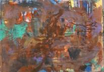 Abstrakte malerei, Informel, Abstrakter expressionismus, Wild