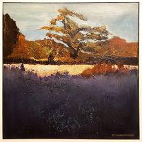 Malerei, Baum, Pflanzen, Struktur