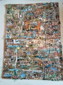 Ägypten, Collage, Thc, Punkt