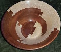 Schale, Holzobjekt, Skulptur, Holzschale