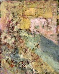 Pastellmalerei, Erblühen, Frühling, Malerei