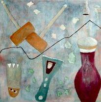 Stillleben, Komposition, Verteilung, Malerei