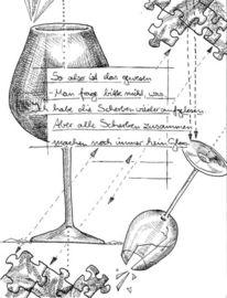 Gedicht, Schwarz, Weiß, Illustrationen