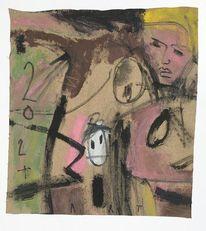 Acrylmalerei, Studie, Malerei