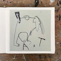 Monika, Art löchle, Zeichnungen,