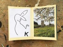 Buch, Buchkunst, Zeichnungen,