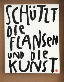 Yes, Artenschutz, Flansen, Malerei
