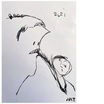 Zeichnung, Skizzenbuch, Zeichnungen,
