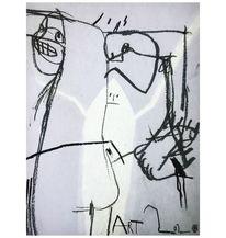 Zeichnung, Menschen, Zeichnungen,