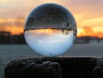 Glaskugel, Fotografie, Natur, Morgen