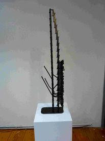 Expressionismus, Eisen, Skulptur, Abstrakt