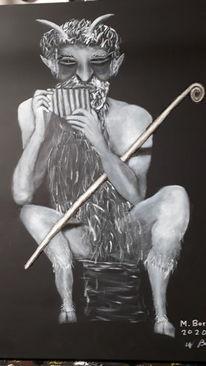Weiß, Modern art, Schwarz, Malerei