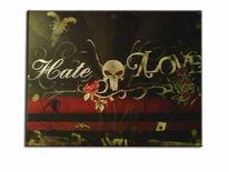 Malerei, Plott, Graffiti, Aufkleber